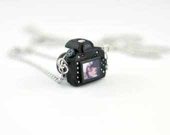 Personalized necklace Nikon D500 Camera miniature / Personalized Gift / Personalized Necklace / Personalized Jewelry