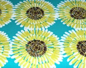 WHOLESALE FABRIC Lot 3 Yards Lagoon Cote d' Azure Soleil for Michael Miller,Flower Fabric,Floral Fabric,100% Quilt Cotton Apparel Craft