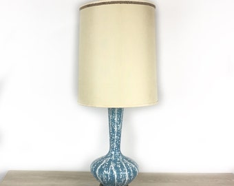 Mid Century modern table lamp pottery lamp table lamp