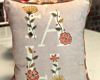 Gorgeous Fall Linen Pillow