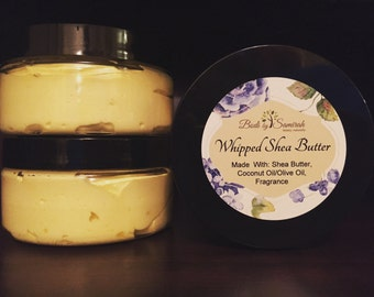 Whipped Shea Butter 8oz