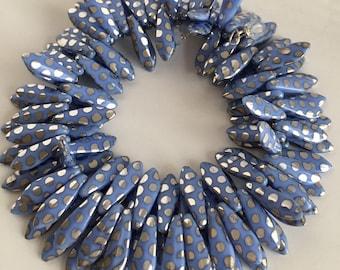 Peacock Mirrored Dagger Bracelet/Earrings Set Gifts for Her
