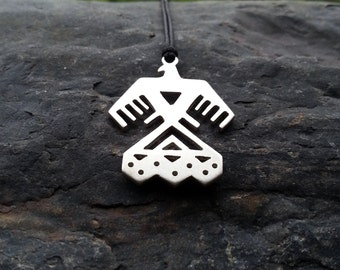 Standing Rock Water Protector Pendant - sterling silver