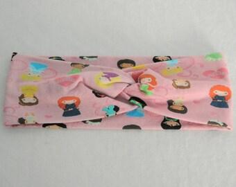 Princess - Faux Turban Twist Headband