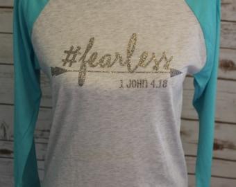 Fearless Women's Raglan T-Shirt