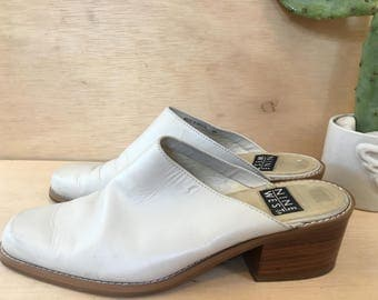 90s Leather Vintage Mules by Nine West