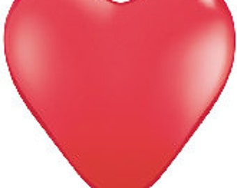 Heart Shape Balloon, Big, 36 inch, Valentine, Wedding, Baptism, New Baby