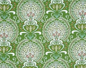 25235   Dena Designs Merry Mistletoe Peyton in Green   PWDF232 - 1 yard