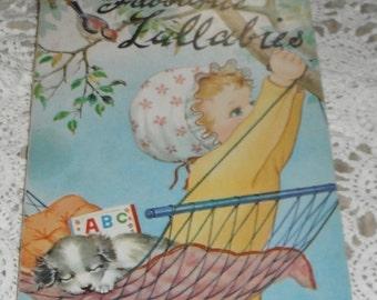 My Happy Book Favourite Lullabies Vintage Book Doeisha Made in Japan