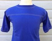 Deadstock blank 1980's jersey style t-shirt, slim medium