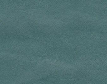 "Vinyl Seafoam  Matte Upholstery Renegade  faux Vinyl fabric per yard 55"" wide"