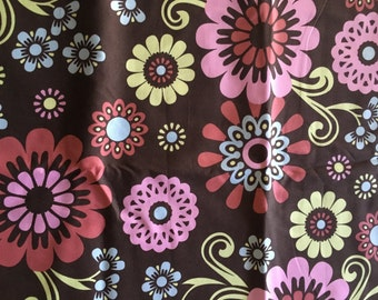 Oops A Daisy Floral Fabric by the yard
