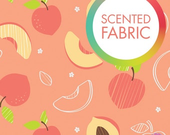 140173302 - Scented Fabric - Peachy Peach Print