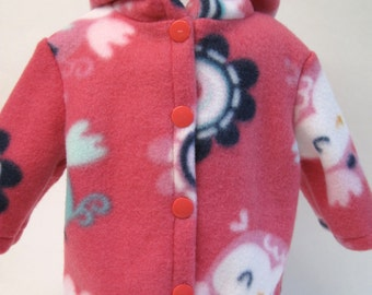 Hooded Fleece Jacket for Your American Girl Doll