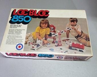 Loc Bloc 850 Piece Set  NO. 1037 , Vintage 1975