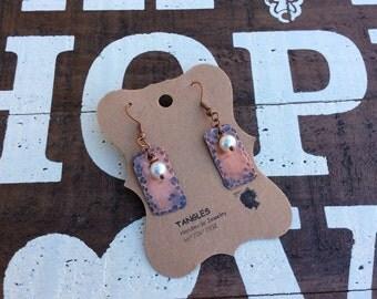 Dangle Copper Earrings