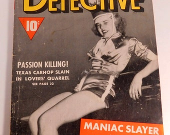 Dynamic Detective Magazine, May 1942 - FREE SHIPPING