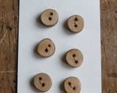 1/4 Inch Tree Branch Buttons