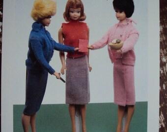 Unused Postcard 1990 Nostalgic Barbie, Baby Boomers
