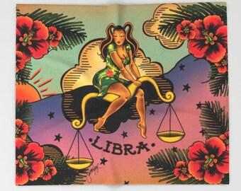 Horoscope Tattoo Libra Blanket