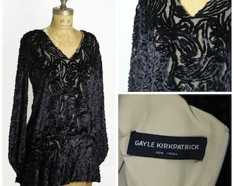 1960s Gayle Kirkpatrick Blouse