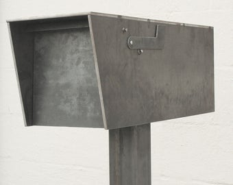 The Dexter Mailbox - Steel Modern Metal Letter Box