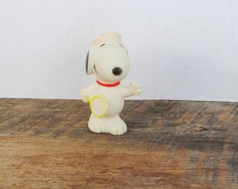 Vintage Snoopy Tennis Squeaky Toy 1966
