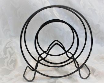 Vintage Wire Napkin Holder - Metal Letter Holder -  Mid Century