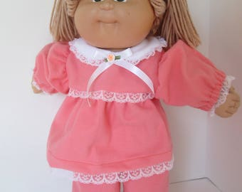 "16"" Girl Cabbage Patch Coral Pajamas"