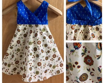 Cotton Boho Sundress, girls size 3t