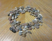 100 Chunky Textured Beach Pebbles Mosaic Stone Craft Supplies Rock Crafts