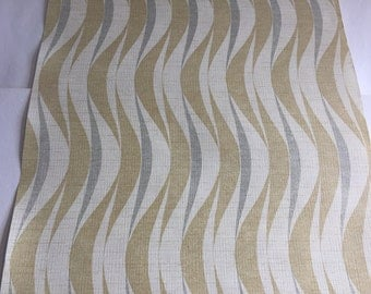 """Vintage Wallpaper-1960s Retro """"Cole"""" by Inaltera-by the yard"""