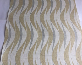"""Vintage Wallpaper-1960s Retro """"Cole"""" by Inaltera-FULL ROLL"""