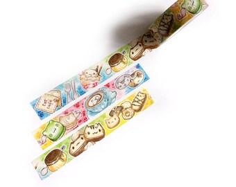 Cat Cafe ARTIST Washi Tape