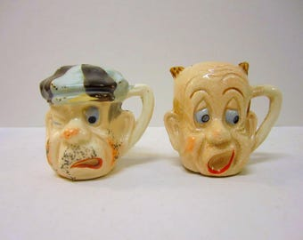 Vintage Characters Salt & Pepper Set