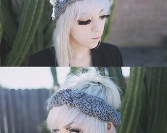 Hera - Handmade Crochet Braided Headband