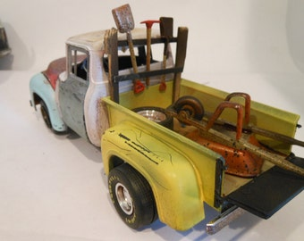Ford Truck,Classicwrecks,Scale Model Car,Junkyard Wreck,Rusted Junk,Barn Find,Pickup Truck