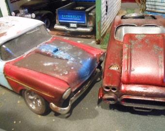 Scale Model Car,Classicwrecks,Rusted Wrecks,Chevy Junkyard