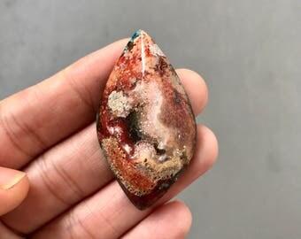 Beautiful Drusy Cabochon Stone