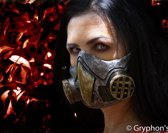 Steampunk, Diesel Punk New Owl Gas Mask Respirator cosplay fetish Larp (goggles not included) OnSale now!
