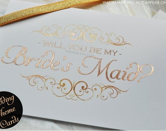 Will you be my brides'smaid card, Will you be my bridesmaid, Bridesmaid, Wedding cards, Bridesmaid gift, Wedding invites, Bridesmaid card