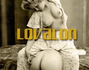MATURE... Naughty, Naughty... Instant Digital Download... 1930's Vintage Nude Erotic Photo Image by Lovalon