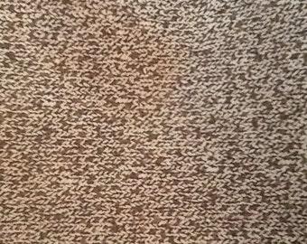 Funky Monkey Moda Quilt Fabric Brown Sock Texture 1 Yard