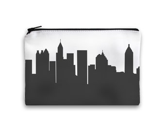Atlanta City Clutch Purse - 6x9 - Skyline Silhouette
