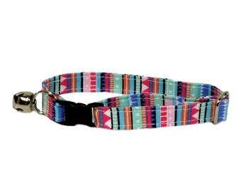 Fun adjustable breakaway cat collar