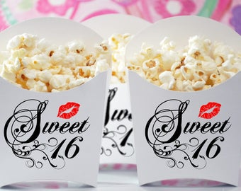 Sweet 16 Party Favor Boxes, GLAMOROUS SWEET EVENTS