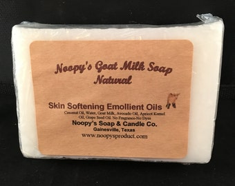 Noopy's GOAT MILK SOAP Scented & Unscented w Skin Softening Emollient Oils-U Pic Scent Free Shipping! Buy 6 get 1 Free