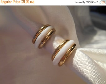 50% OFF SALE Avon Bermuda Clip Style Hoop Earrings