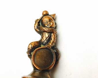 Vintage Copper Clown Collectors Figurines, Holiday  Sale, Item No. M154