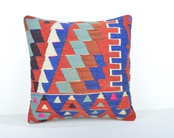 Kilim pillow cover, kp1737, Kilim Pillow, Turkish Pillow, Kilim Cushions, Kilim, Moroccan Pillow, Bohemian Pillow, Turkish Kilim